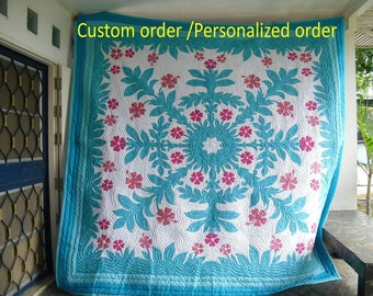Hawaiian quilt | Etsy : hawaian quilts - Adamdwight.com
