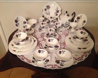 Royal Albert masquerade tea and part dinner set  49 piece