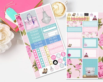 Purse Love Personal Planner Stickers-Personal Mini Kit Planner Stickers- Personal Planner Sticker Kit- Erin Condren Mini Kit-TN Stickers