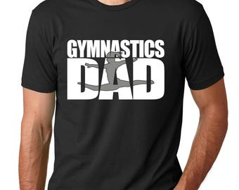 Gymnastics Dad Shirt, Gymnastics Shirt, Gymnastics Gift, Gifts For Him, Christmas Gift, Fathers Day Gift