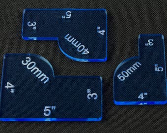 Warmahordes Blast Gauges Set - BLUE