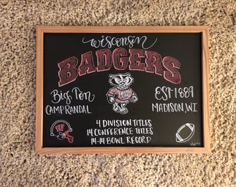 Chalkboard: College Team