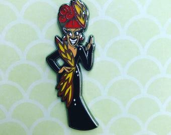 Bianca Del Rio 2 inch hard enamel pin