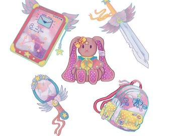 Magical Girl Sticker Pack