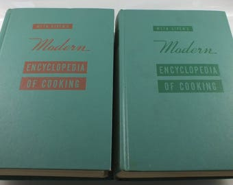Meta Given's Modern Encyclopedia Of Cooking - Volume 1 and 2 Complete - 1969
