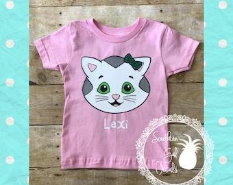 Katerina Kittykat / Daniel Tiger Inspired Personalized Shirt
