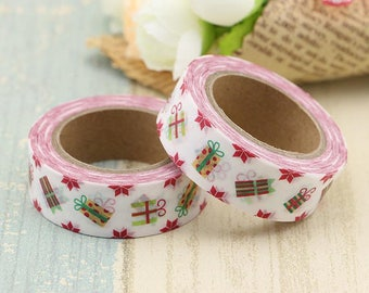 Presents Themed Washi Tape