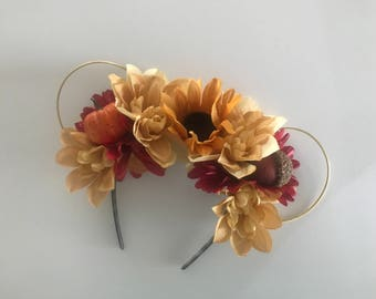 Fall Floral Ears