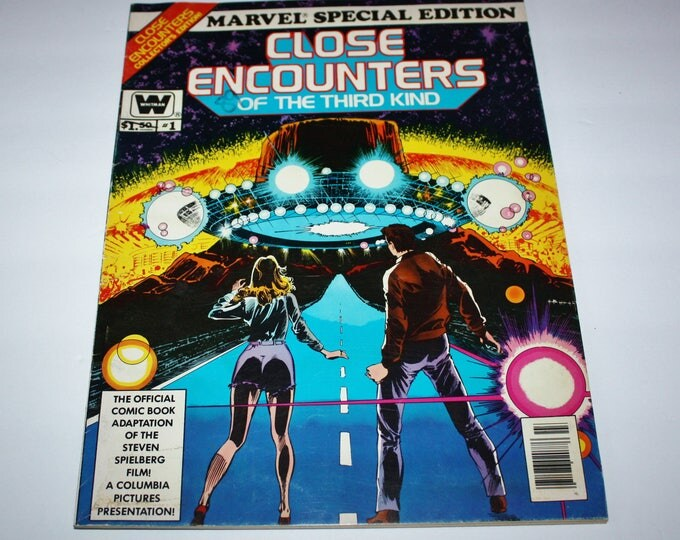 Close Encounters of the Third Kind Marvel Special Edition Whitman 1978