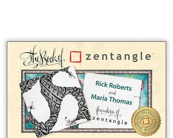 BRAND NEW in Paperback! The Book of Zentangle®