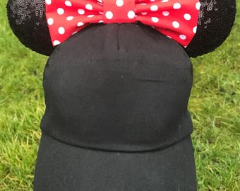 Classic minnie sequin ears