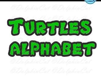TURTLES MUTANT FONT FREE DOWNLOAD NINJA TEENAGE