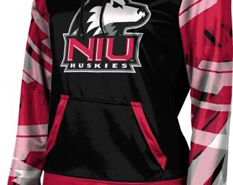 ProSphere Girls' Northern Illinois University Crisscross Pullover Hoodie (NIU)