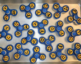 Fidget Spinner Cookies (they do spin!) - sold by the dozen