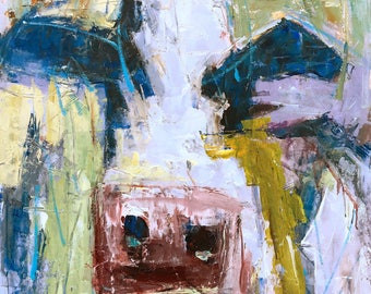 Abstract 148 COW 35x47""