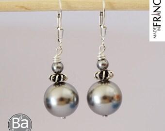 RELIGIOUS earrings grey