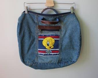 Vintage Tweety Weekender Bag