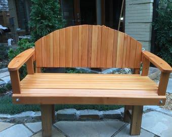 Porch Swing made from Douglas Fir