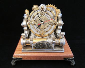 Alchemy England Time Chronambulator Desk Clock and Stand