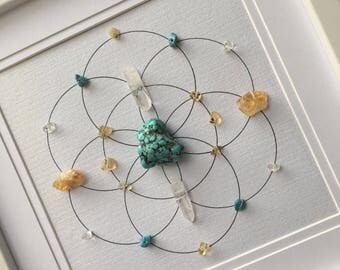Health & Happiness Crystal Grid