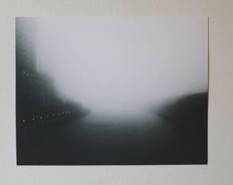 Chicago Fog Print - Chicago River Fog - Windy City Fog
