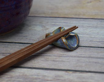 Handmade Chopstick Rest, Chopstick Holder, Utensil Holder, Chopsticks, Small Gift