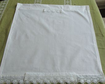 Curtain Panel 100% cotton eyelet lace