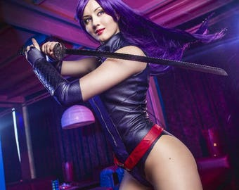 Psylocke cosplay costume Marvel comics