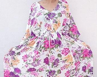kaftan, caftan, kaftan dress, kaftan maxi dress, long kaftan, cotton kaftan, long kimono robe, maternity kaftan dress robe, women's clothing