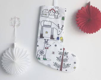 Boot Christmas Coloring + 1 free permanent textile marker (free postage)
