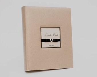 Custom photo album, Wedding album, Large photo album, Vintage photo album, Brown photo album, Kraft paper photo album, unused photo album