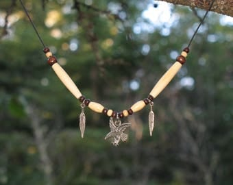 Necklace Native American Eagle / #043