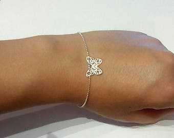 "925 silver bracelet ""Butterfly"" - Creation of sparkle"