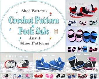 Crochet Patterns Baby Sneaker Sale - Discount Shoe Patterns