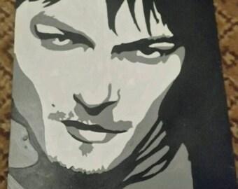 Norman reedus Schattenoptik