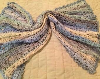 Pastel Stripe Baby Blanket