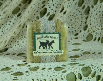No Fragrance or Coloring, All Natural Goat Milk Soap
