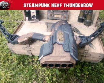 Steampunk Nerf Thunderbow Gun