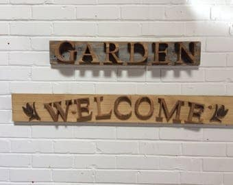 Handmade wooden signs for any occasion