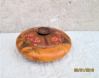 Vintage French Box, wood boxes, handmade wood items,