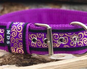 Dog collar - dog - collar strap - Doggy necklace ' Summer - gold