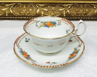 Antique Royal Stafford teacup and saucer.