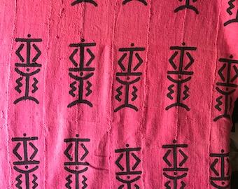 Light pink Mudcloth