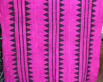 Pink /purple mudcloth
