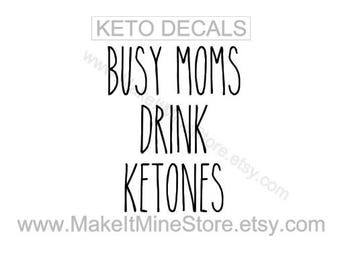 BUSY MOMS drink KETONES Pruvit shirt Pruvit decal Pruvit ketones Pruvit keto os business cards car decal banner keto shirt #11