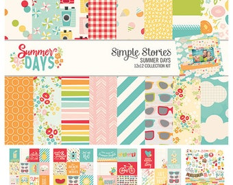 Simple Stories Summer Days Collection Kit