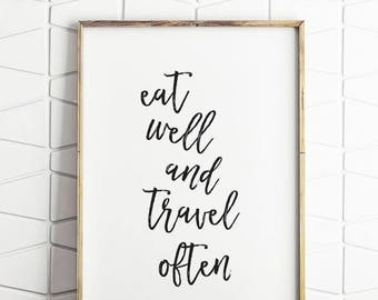 70% OFF SALE printable travel decor, travel quote art, travel motivational art, travel download art, travel home decor