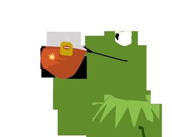 Kermit decal | Etsy
