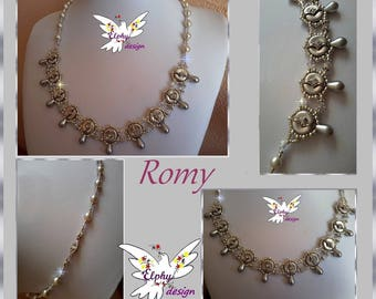 Collier ROMY; son tutoriel en PDF