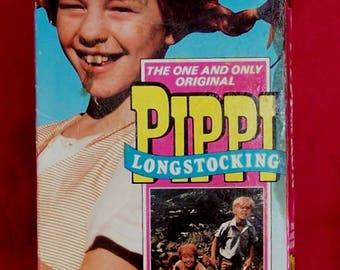 Pippi Longstocking/ Pippi on the Run VHS